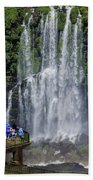 Iquazu Falls - South America Beach Towel