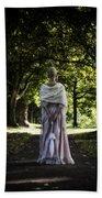 Jane Austen Beach Towel by Joana Kruse