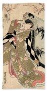 Japan: Tale Of Genji Beach Towel