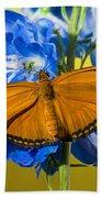 Julia Butterfly Beach Towel
