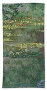 Le Bassin Des Nympheas Beach Towel
