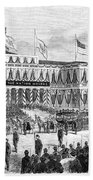 Lincoln's Funeral, 1865 Beach Towel