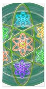 Mandala Is An Object It Is Your Spirit To Meditate And Be In Touch With Cosmic Forces That Matters Beach Towel