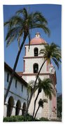 Old Mission Santa Barbara Beach Towel