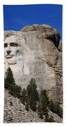 Mount Rushmore Beach Towel by Frank Romeo
