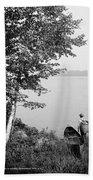 New York Adirondacks Beach Towel