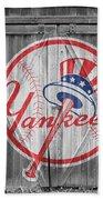 New York Yankees Beach Towel