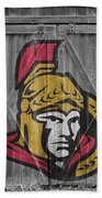 Ottawa Senators Beach Towel