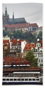 Prague Beach Towel