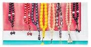 Prayer Beads Beach Sheet