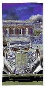 Psychedelic Classic Lagonda Beach Towel
