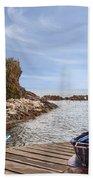 Riomaggiore Beach Towel by Joana Kruse