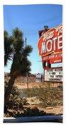 Route 66 - Hill Top Motel Beach Towel