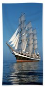 Sailing Ship Beach Towel