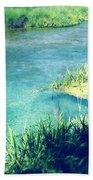 Spring Water Beach Towel