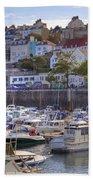St Peter Port - Guernsey Beach Towel