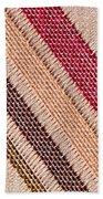 Striped Material Beach Towel