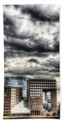 The Shard And South Bank Beach Towel