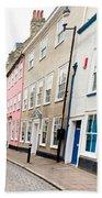 Town Houses Beach Towel by Tom Gowanlock