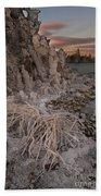 Tufa Formations, Mono Lake, Ca Beach Towel