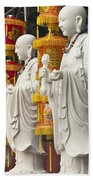 Vietnamese Temple Shrine Beach Towel