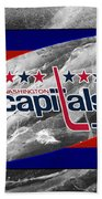 Washington Capitals Beach Towel