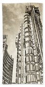 Willis Group And Lloyd's Of London Art Beach Towel