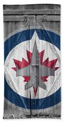 Winnipeg Jets Beach Towel