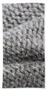 Wool Background Beach Towel