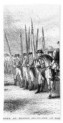 Yorktown: Surrender, 1781 Beach Towel