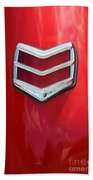 40 Ford Coupe Tail Light Beach Towel