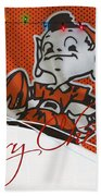 Cleveland Browns Beach Towel