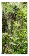 Jungle Beach Towel by Les Cunliffe