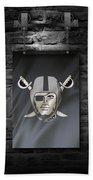 Oakland Raiders Beach Towel
