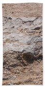 White Desert Beach Towel