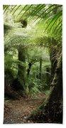 Jungle Beach Towel by Les Cunliffe