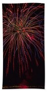 4th July #12 Beach Towel
