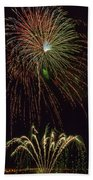 4th July #2 Beach Towel