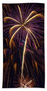 4th July #9 Beach Towel