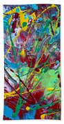 4th Of July Beach Towel by Donna Blackhall
