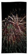 4th Of July Fireworks Beach Towel