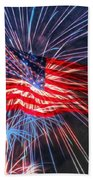 4th Of July Beach Towel
