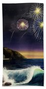 4th On The Shore Beach Towel