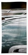 1940 Chevrolet Hood Ornament Beach Towel