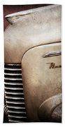 1940 Nash Sedan Grille Beach Towel