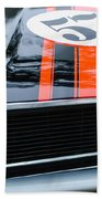 1970 Ford Mustang Boss 302 Grille Emblem Beach Towel
