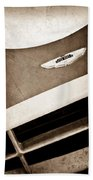 1993 Aston Martin Dbr2 Recreation Hood Emblem Beach Towel