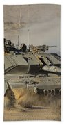 An Israel Defense Force Magach 7 Main Beach Towel