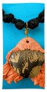 Aphrodite Melainis Necklace Beach Towel