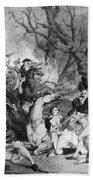 Battle Of Princeton, 1777 Beach Towel